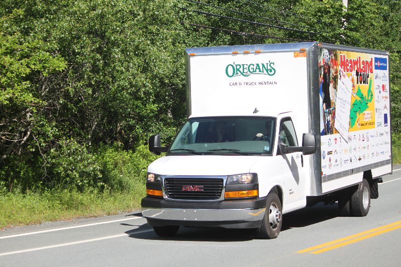 Thanks ORegans for our Van