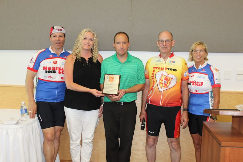 A well-deserved Big Heart Award to Pictou County Wellness Centre.